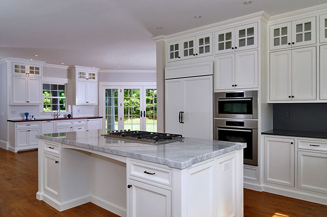 Toby leary custom cabinets cape cod remodeling for Cape cod kitchen design ideas